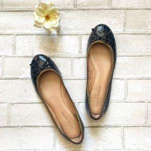 Banana Republic   Faux Crocodile Ballet Flats 8M